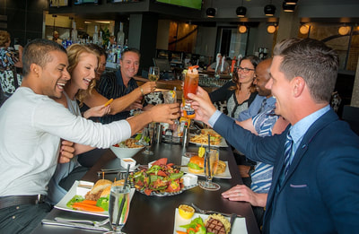 Enjoying happy hour fun things to do in Calgary for adults