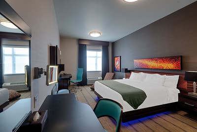 King rooms in calgary hotel near airport